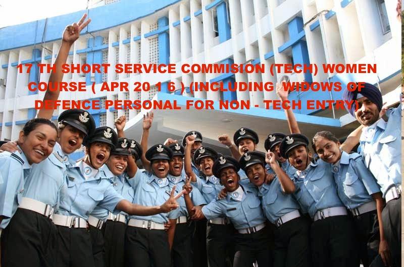 17 TH SHORT SERVICE COMMISION (TECH) WOMEN COURSE