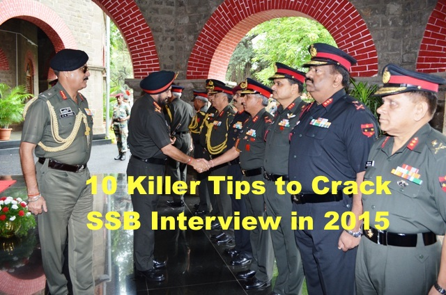 10 Killer Tips to Crack SSB Interview in 2015