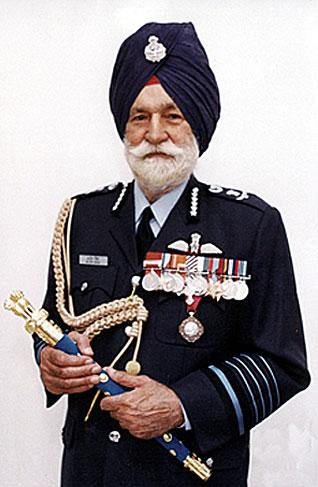 Life history Of Arjan Singh, Marshal of the Indian Air Force