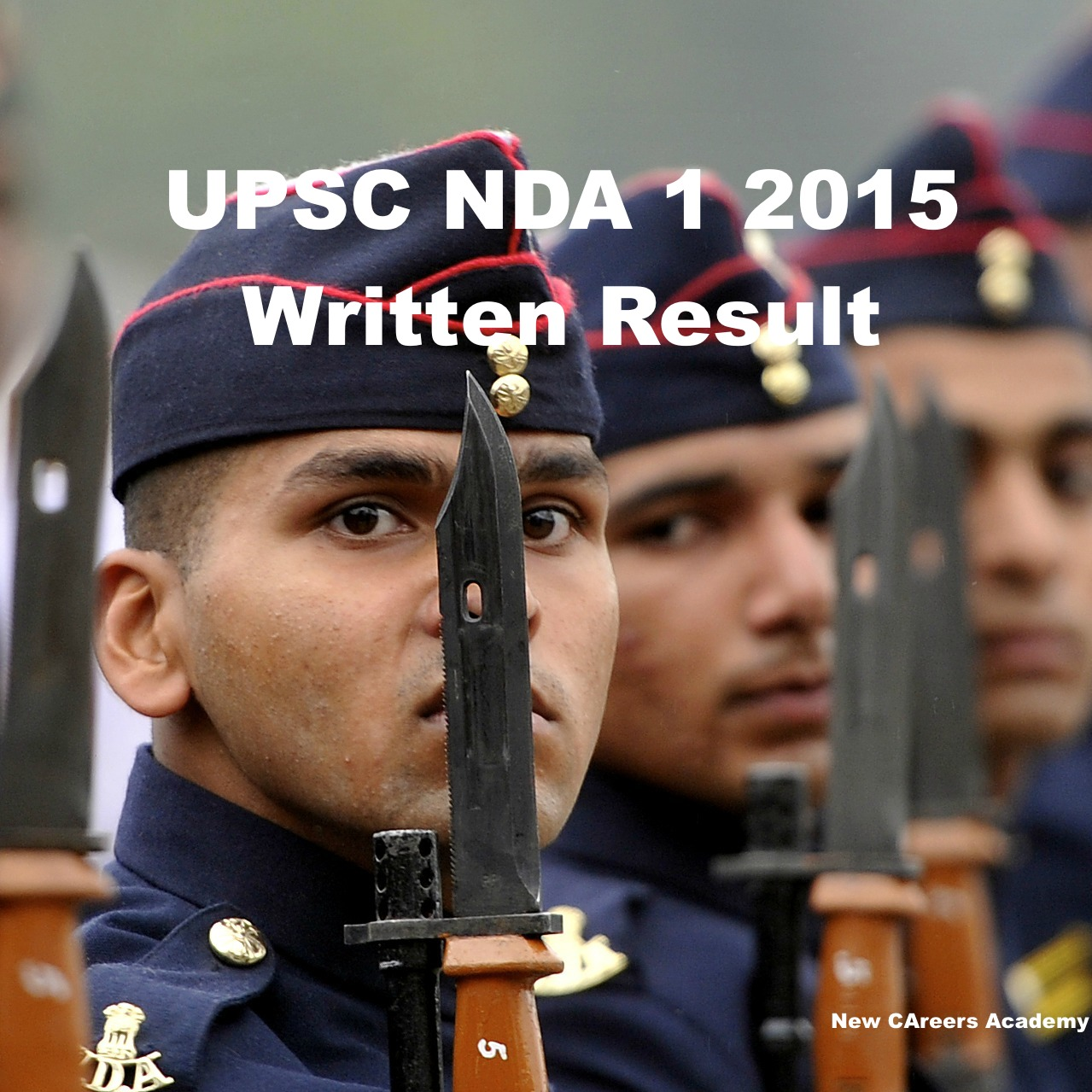 upsc nda 1 written exam result 2015