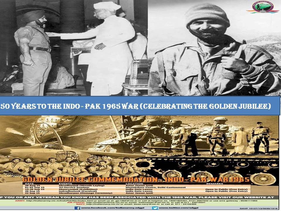 50 years to the indo-1965 pak war