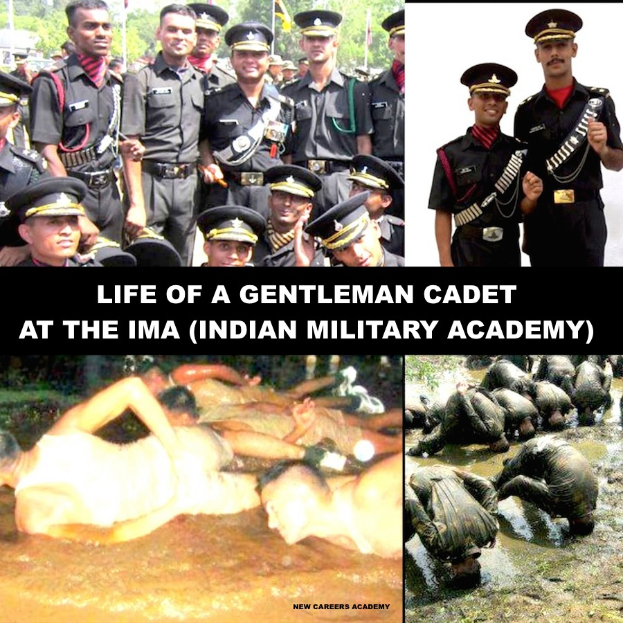 LIFE OF A GENTLEMAN CADET AT THE IMA (INDIAN MILITARY ACADEMY)
