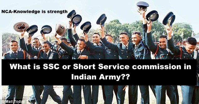 what is short service commission in Indian army