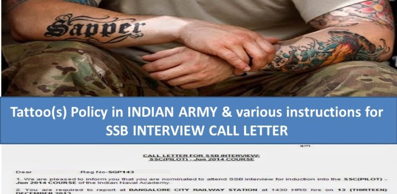 Indian Army Tattoo Policy Nca Academy