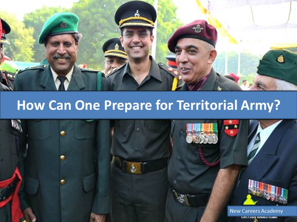 How Can One Prepare for Territorial Army....