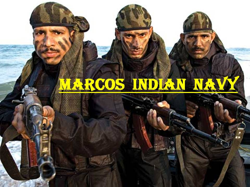 Marcos-Indian-Navy