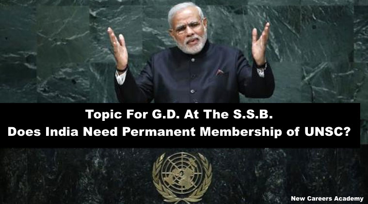 Does India need UNSC permanent seat ?