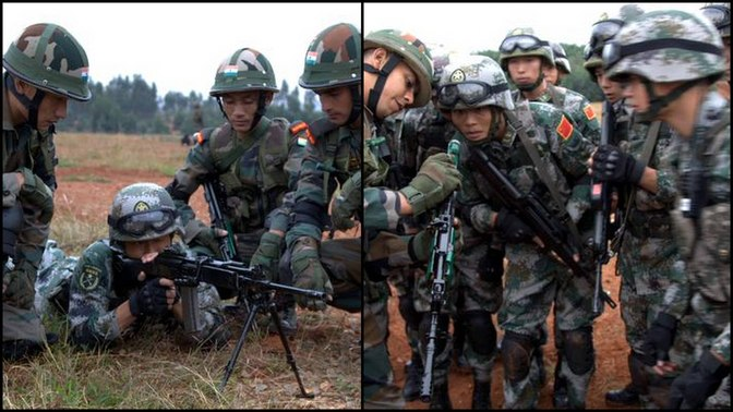 India_China Joint exercise