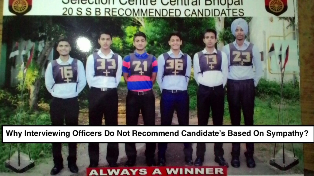 SSB Selected Candidates