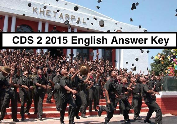 CDS 2 2015 English answer key and paper