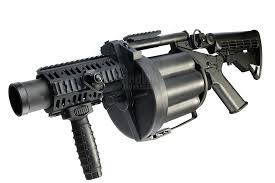 Automatic grenade launcher
