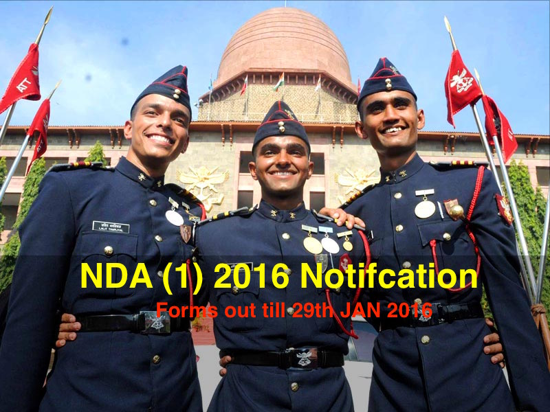 nda 1 2016 notifiations