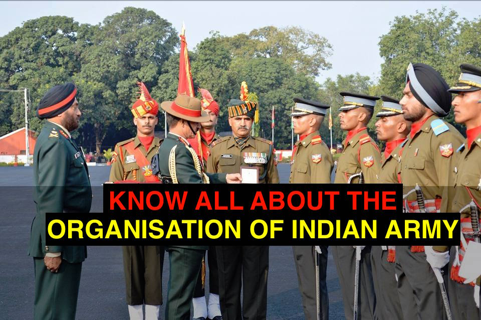 organisation of indian army