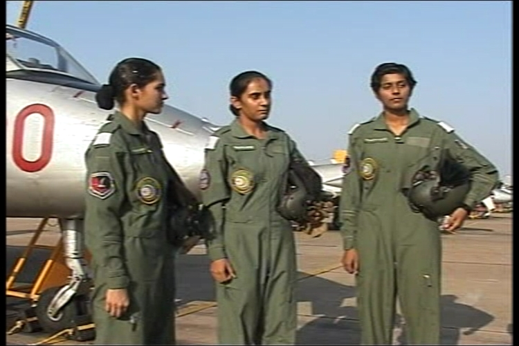 Bhawna Kanth, Avani Chaturvedi and Mohana Singh