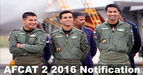 Afcat 2 2016 notification