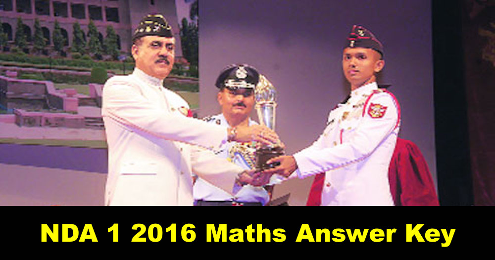 nda 1 2016 maths answer key