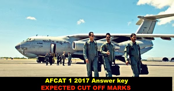 AFCAT 1 2017 Answer key