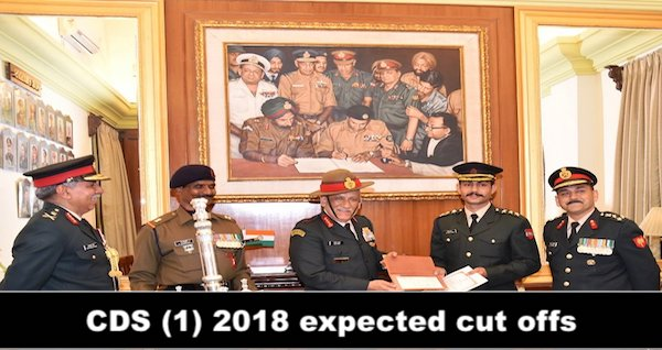 cds 1 2018 expected cut off's