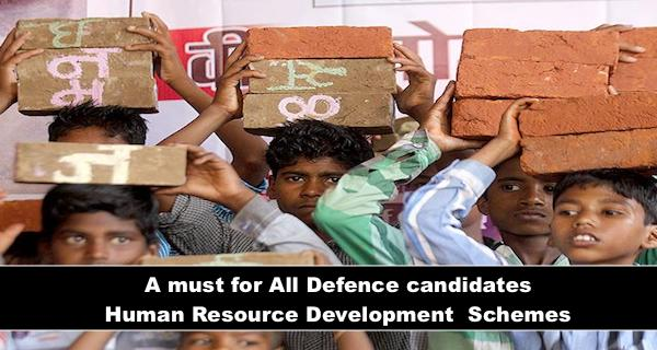 A Must for all Defense Candidates MINISTRY OF HUMAN RESOURCE DEVELOPMENT