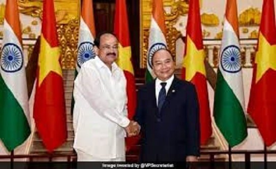 For All defence Aspirants Vice President of India Visits Vietnam-Nca Academy