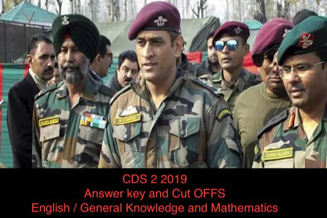 For All Defence Aspirants  UPSC CDS(2) 2019 Answer key And Expected Cut Off's  Examination-Nca Academy