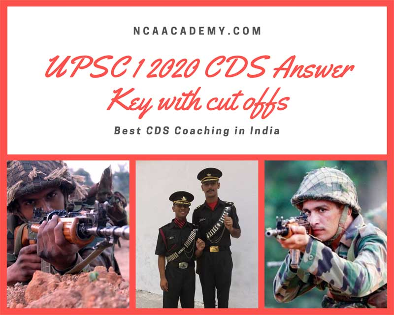 UPSC-1-2020-CDS-Answer-Key