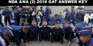 NDA 2 2016 GAT Answer key NCAACADEMY