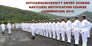 TO JOIN AS COMMISSIONED OFFICERS UNDER UNIVERSITY ENTRY SCHEME (UES) COURSE COMMENCING JUN 2016