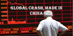 Global crash, made in China