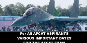 For Afcat important Dates to Remember-NCA Academy