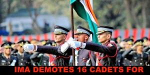 IMA DEMOTES 16 CADETS FOR IMPROPER CONDUCT