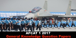 AFCAT 1 2017 Practice Questions for GK ...