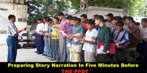 How to Prepare Story Narration Just Before the PPDT