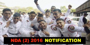 NDA (2) 2016 Notification