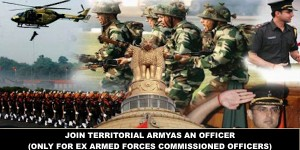 TERRITORIAL ARMY - 1 / 2017 Notification