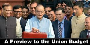 Union Budget 2018-19 Preview