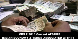 Important Economic Terms for Upcoming CDS 2 2016 Paper